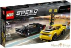 LEGO Speed Champions 2018 Dodge Challenger SRT Demon és 1970 Dodge Charger R/T 75893