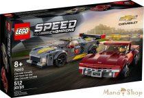 LEGO Speed Champions - Chevrolet Corvette C8.R Race Car és 1968 Chevrolet Corvette 76903