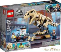 LEGO Jurassic World T-Rex dinoszaurusz őskövület kiállítás 76940