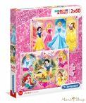 Clementoni Disney Princess 2 x 60 db-os puzzle