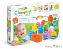 Clementoni Clamy Soft puha kockák 24db