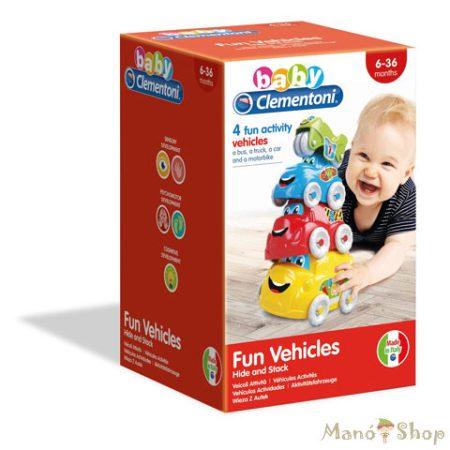 Clementoni Baby - Jármű rakosgató