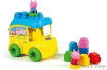 Clemmy Baby Peppa malac busz puha építőkockákkal - Clementoni