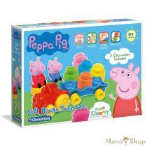 Clemmy Baby Peppa malac vonatos játékszett - Clementoni