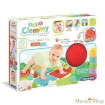 Clemmy Soft puha játszószőnyeg építőkockákkal - Clementoni