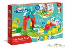 Clementoni Baby - Interaktív vonat szett