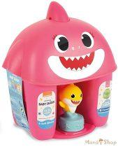 Clementoni Clemmy Baby Puha kockák - Baby Shark pink tároló