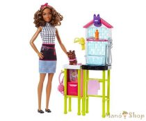 Barbie karrier játékszettek - Kisállat kozmetikus