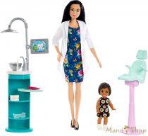 Barbie karrier játékszettek - Fogorvos