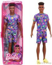 Barbie Fashionista barátok fiú babák - Lila sportfelszerelésben (GRB87)