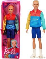 Barbie Fashionista barátok fiú babák - Színes kabátban (GRB88)