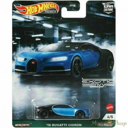 Hot Wheels Premium - Exotic Envy - '16 Bugatti Chiron (GRJ76)