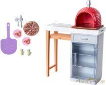 Barbie kerti bútorok - pizzasütés