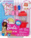 Barbie Popcorn kiegészítő szett gyurmával