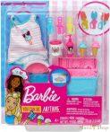 Barbie Fagyis kiegészítő szett gyurmával