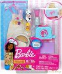 Barbie Reggeliző szett gyurmával