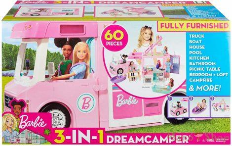 Barbie Luxus lakóautó 3 az 1 ben