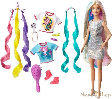 Barbie varázslatos frizurák kiegészítőkkel