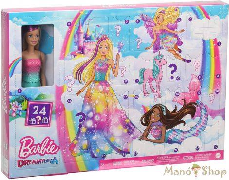 Barbie Dreamtopia adventi naptár (GJB72)