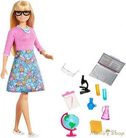 Barbie karrier játékszett - tanár (GJC23)