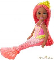 Barbie Dreamtopia Chelsea sellő Vörös hercegnő