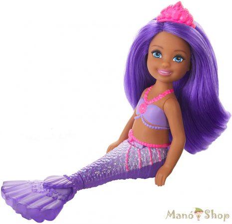Barbie Dreamtopia Chelsea sellő Lila hercegnő
