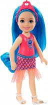 Barbie Dreamtopia - Chelsea Sprite kék hajú lány baba