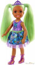 Barbie Dreamtopia - Chelsea Sprite zöld hajú lány baba