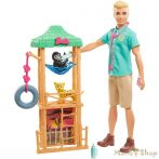 Barbie karrierista Ken: Vadállatok Orvosa