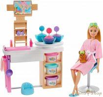 Barbie feltöltődés Szépségszalon játékszett