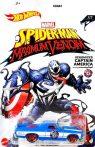 Hot Wheels - Marvel Spiderman Maximum Venom - Captain America - '71 El Camino (GJV26)