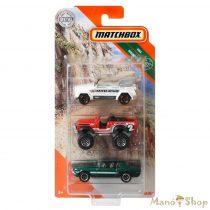 Matchbox - 3 darabos kisautó készlet - Rocky Peaks (GKR64)