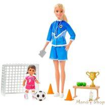 Barbie Fociedző játékszett (GLM47)