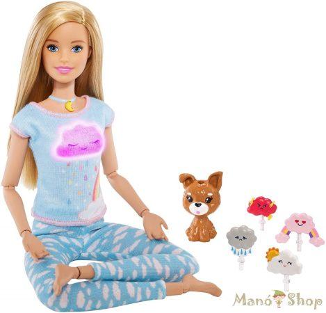 Barbie feltöltődés Meditációs baba kutyussal, fény- és hanghatásokkal