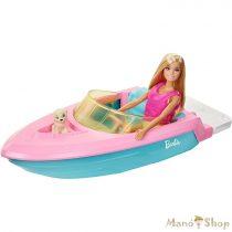 Barbie motorcsónakkal és kiegészítőkkel (GRG30)
