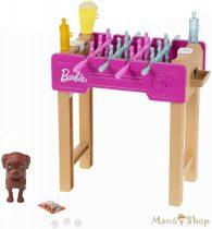 Barbie kerti játékszettek kisállattal - Csocsóasztal (GRG77)