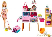 Barbie kisállat bolt készlet
