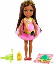 Barbie - az elveszett szülinap - Chelsea baba barna (GRT82)