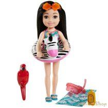 Barbie - az elveszett szülinap - Chelsea baba fekete (GRT83)