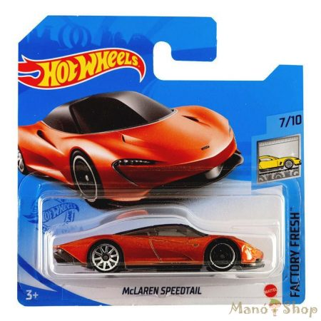 Hot Wheels - Factory Fresh - McLaren Speedtail (GRY30)