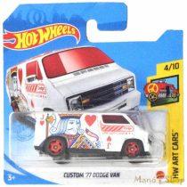 Hot Wheels - HW Art Cars - Custom '77 Dodge Van (Treasure Hunt) (GTC88)