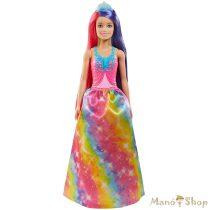 Barbie Dreamtopia varázslatos frizura baba - hercegnő
