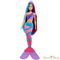Barbie Dreamtopia varázslatos frizura baba - sellő