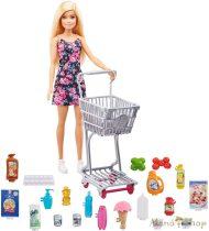 Barbie nagybevásárlás játékszett