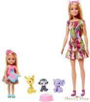 Barbie Az elveszett szülinap - Barbie és Chelsea játékszett