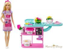Barbie virágkötő játékszett
