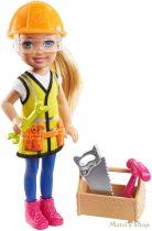 Barbie - Chelsea karrierbaba - Építőmunkás (GTN87)