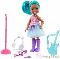 Barbie - Chelsea karrierbaba - Popsztár (GTN89)