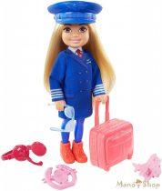 Barbie - Chelsea karrierbaba - Pilóta (GTN90)