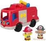 Fisher-Price Little People Segítő Tűzoltóautó (GXR77)